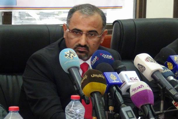 ثلاثة قرارات للزبيدي في الجمعية الوطنية: أحمد بن بريك رئيساً وأنيس لقمان نائباً