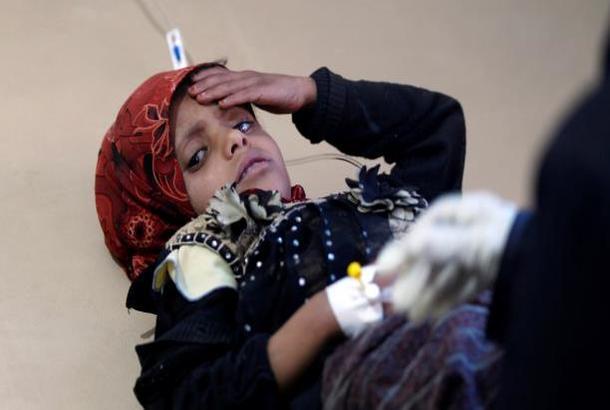 أوبراين: 300 ألف شخص تأثروا من وباء الكوليرا في اليمن