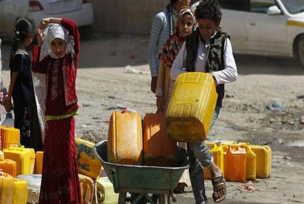 """منظمة """"أنقذوا الأطفال"""" البريطانية تحذر من تحول مرض الكوليرا في اليمن إلى وباء"""