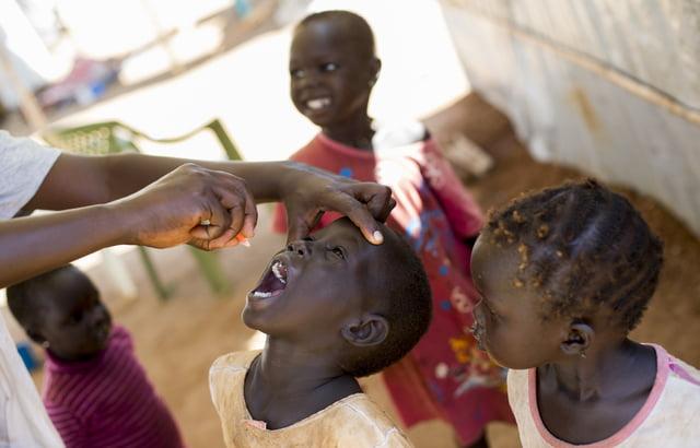 مقتل 15 طفلاً في حملة للتطعيم ضد الحصبة بجنوب السودان