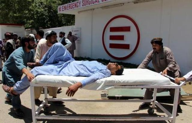 عشرات القتلى والجرحى في انفجار سيارة أمام بنك في أفغانستان