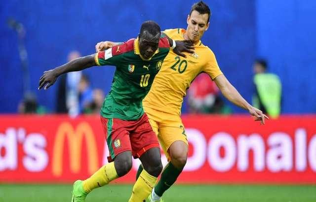 كأس القارات لكرة القدم: تعادل الكاميرون واستراليا