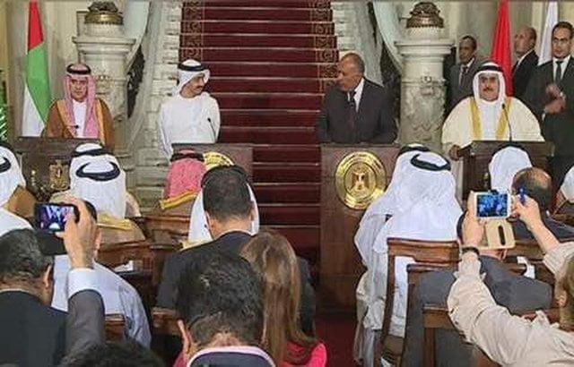 نص بيان دول اجتماع القاهرة حول قطر
