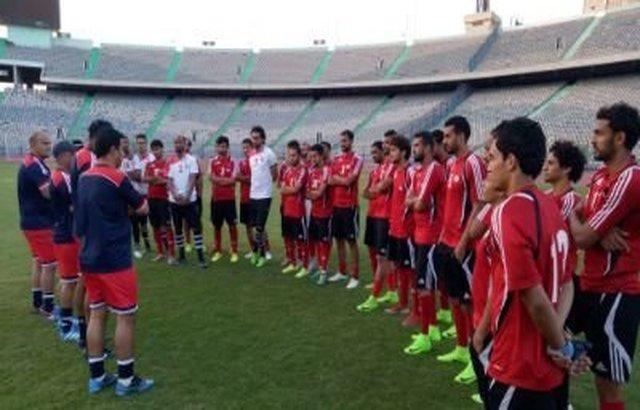 المنتخب اليمني لكرة القدم يواصل معسكره في القاهرة ويواجه المقاصة