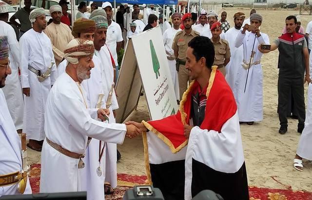 منتخب اليمن للفروسية يتوج بكأس بطولة صلالة المؤهلة لكأس العالم.. صور