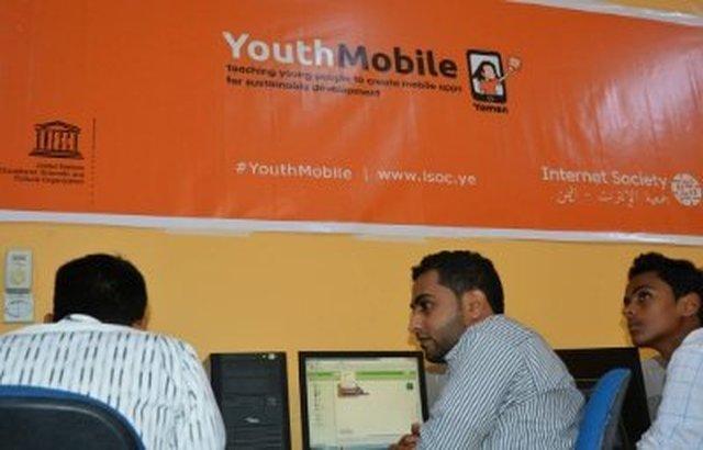 جمعية الإنترنت في اليمن تدشن مشروع موبايل الشباب التدريبي بصنعاء وعدن