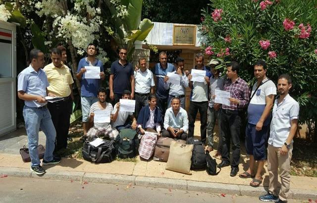 موفدو الجامعات اليمنية إلى المغرب يستأنفون اعتصامهم