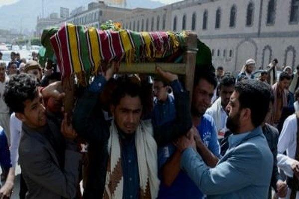 تشييع جثمان فقيد الرياضة اليمنية أيمن دحروج