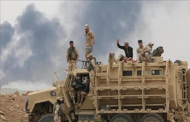 الدفاع العراقية تعلن رسميا استعادة كامل مدينة تلعفر