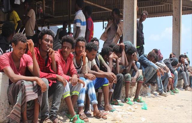 اللاجئون الأفارقة من قسوة القمع لمرارة التشرد باليمن