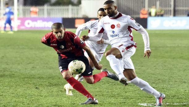 الوداد المغربي يفوز على اتحاد الجزائر ويتأهل إلى نهائي الأبطال