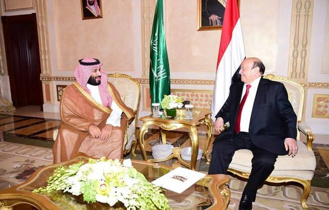 هادي يشكل لجنة لمتابعة وتنفيذ نتائج اجتماعه مع ولي العهد السعودي.. أسماء
