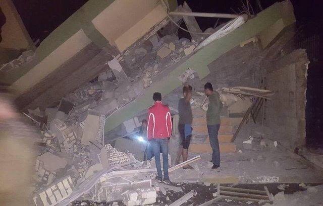 لـ4 دقائق.. صور من أعنف زلزال ضرب العراق وإيران