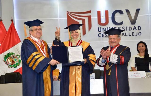 جامعة سيسر بايخو تمنح توكل كرمان دكتوراة فخرية في القانون الدولي