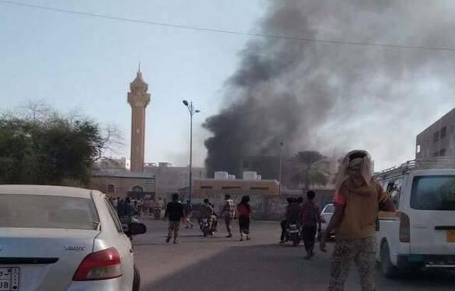 ستة قتلى بالتفجير الانتحاري الذي استهداف الحزام الأمني بعدن.. وداعش يتبنى