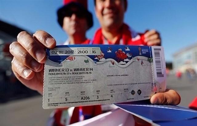 """""""فيفا"""" يبدأ المرحلة الثانية من بيع تذاكر كأس العالم 2018"""