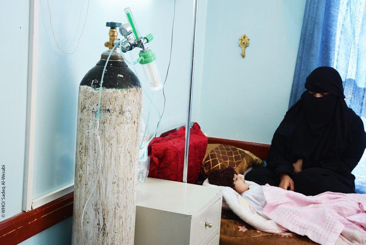 الصحة العالمية تعلن تفشي وباء الدفتيريا في اليمن و11 حالة وفاة.. بالصور