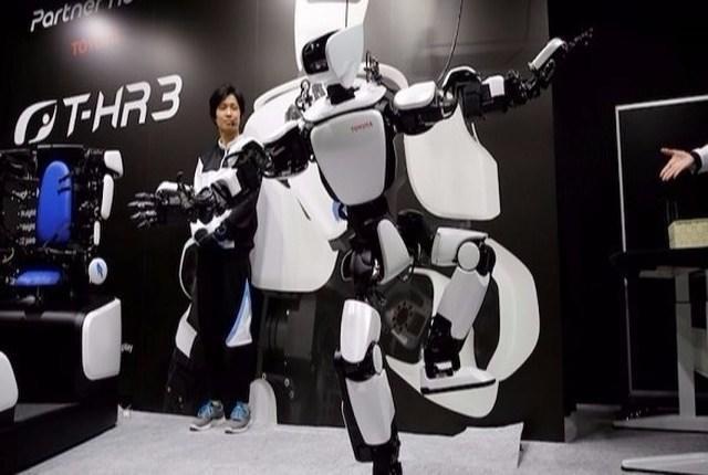 اليابان: تويوتا تكشف عن روبوت جديد قابل للتسيير عن بعد
