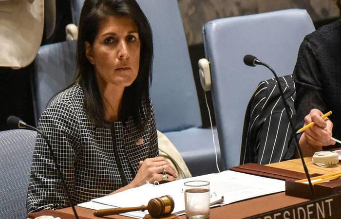المندوبة الأميركية في جلسة القدس ترد متوعدة: سنتذكر هذا الاستهداف
