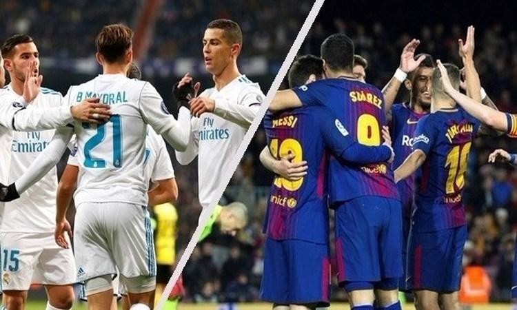 """الدوري الإسباني: برشلونة """"الفتاك"""" يتربص بريال مدريد """"المنتشي"""""""