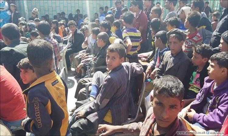 الحرب والشتاء يقسوان على أيتام اليمن