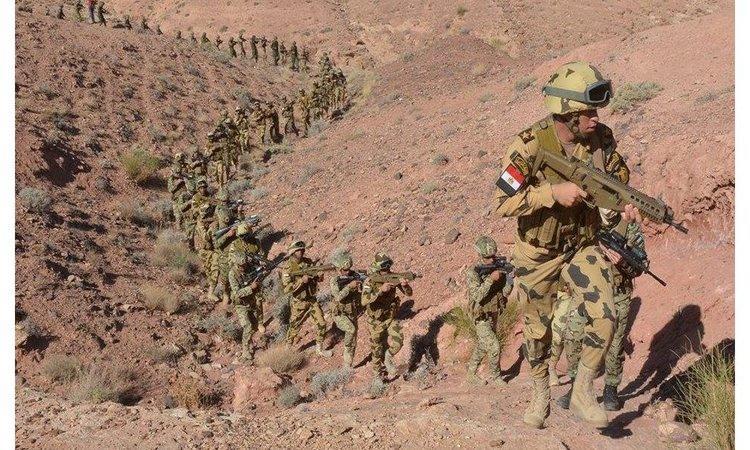 الجيش المصري يكشف بالأرقام نتائج حملاته في سيناء