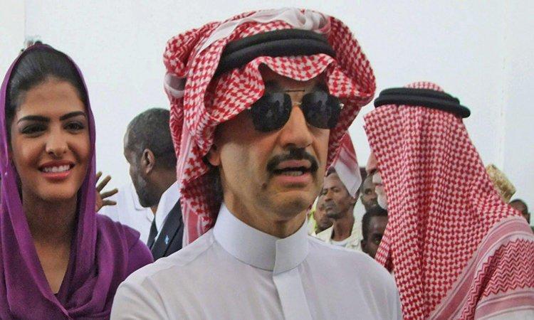 الملياردير السعودي الوليد بن طلال يستحوذ على 2.3% من سنابشات