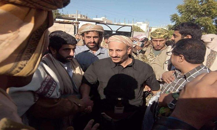 العميد طارق صالح يظهر للمرة الأولى بزيارة إلى شبوة.. صور
