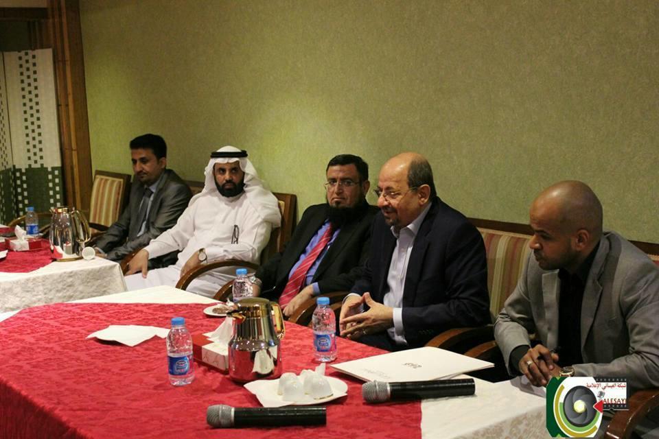 الزنداني يلتقي قيادات الجالية اليمنية في الدمام والخبر والجبيل والإحساء