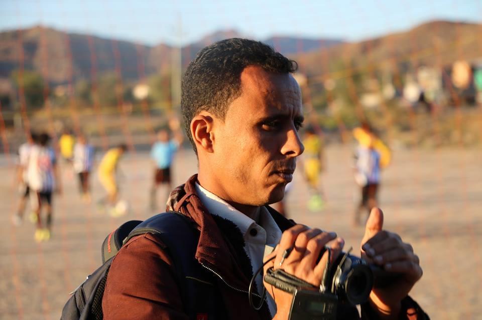 قناة بلقيس تنعي مصورها في تعز الزميل محمد القدسي