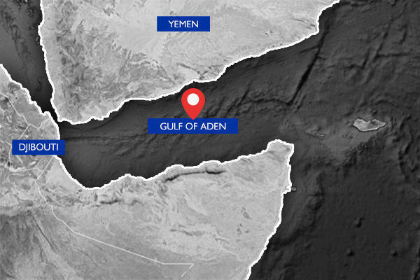 سفينة تحمل علم بريطانيا تقول إنها تعرضت لهجوم في خليج عدن