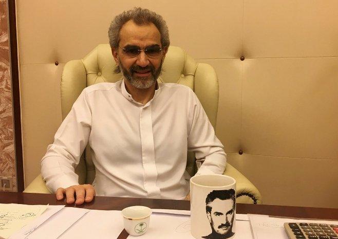 مصادر: الوليد بن طلال يتنازل عن جزء من أرباحه في الشركة القابضة