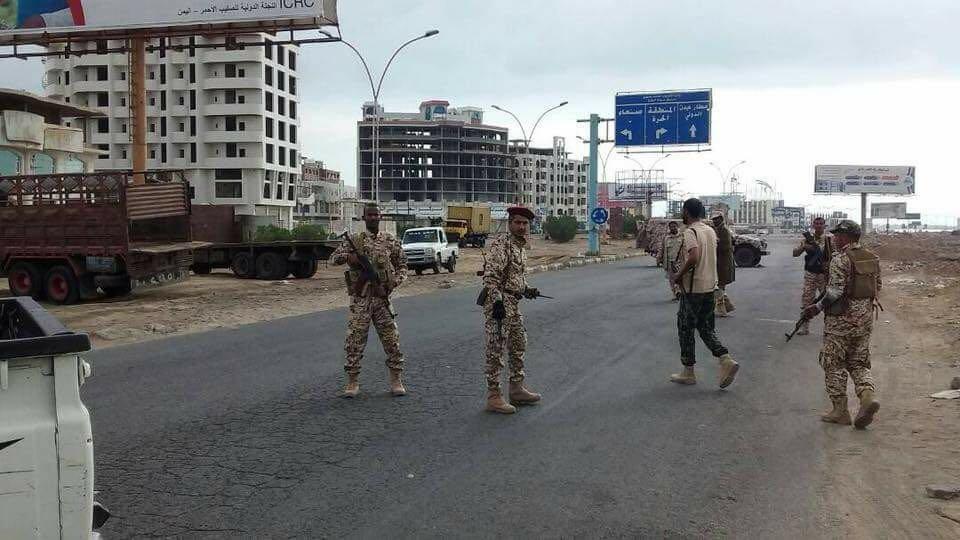 صحيفة محلية تنشر خارطة الانتشار العسكري في عدن وتطورات اليوم.. تفاصيل