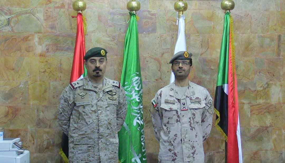 مؤتمر صحفي لوفد التحالف من السعودية والإمارات في عدن