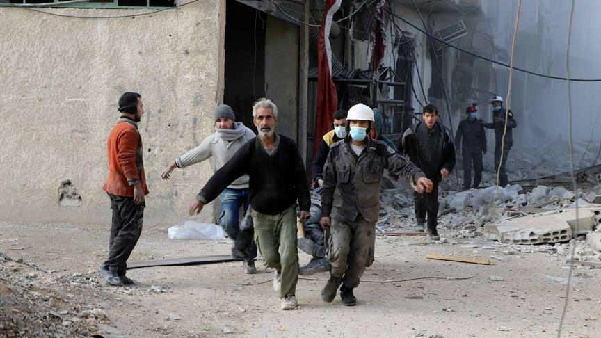 الصليب الأحمر يطلب دخول الغوطة لإنقاذ المدنيين من كارثة