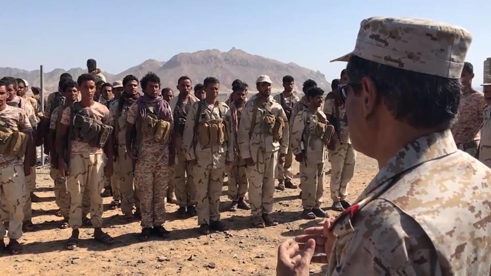 محافظ حضرموت في وادي المسيني بعد تحريره من مسلحي القاعدة.. فيديو وصور