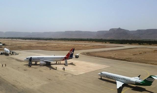 إدارة مطار سيئون الدولي تناشد تزويده بالوقود مع قرب نفاذه