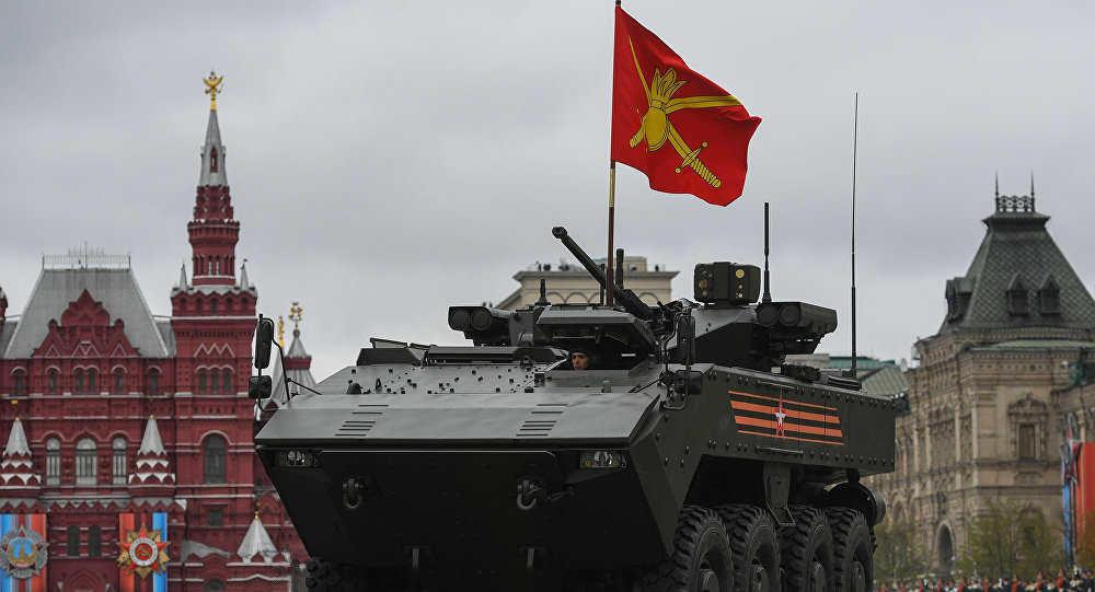 روسيا تطور دبابة جديدة تسير على عجلات