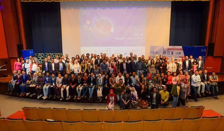 اختتام مؤتمر شبكة صحفيي البيانات العرب في القاهرة