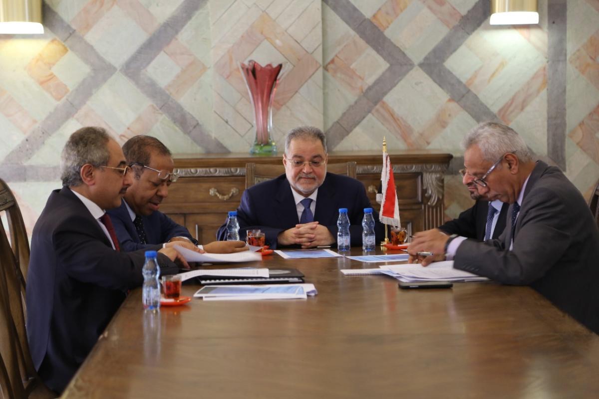 لجنة متابعة أوضاع المغتربين اليمنيين في السعودية تناقش المستجدات باجتماع