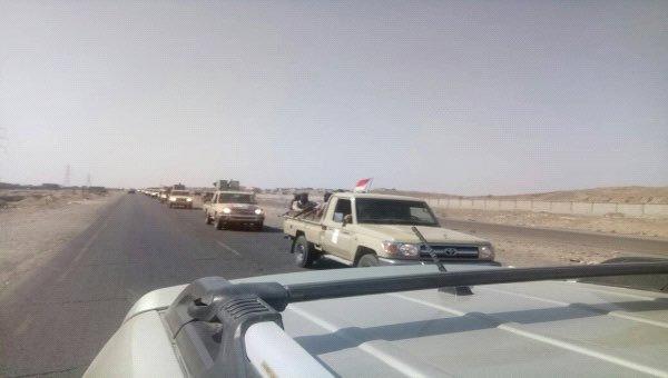 الحزام الأمني في أبين تعلن إرسال تعزيزات إلى شبوة لدعم النخبة.. بيان