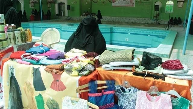 اتحاد نساء اليمن في وادي حضرموت يقيم معرضاً لمنتجات المرأة.. صور