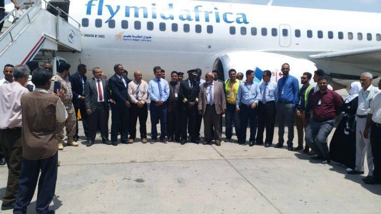 حكومة بن دغر توافق على إنشاء شركة طيران خاصة