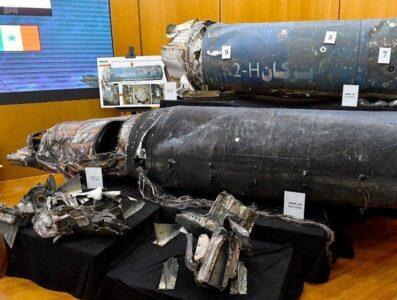 صواريخ الحوثيين تجاه السعودية كما عرضها متحدث التحالف العربي