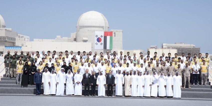 الإمارات تعلن الانتهاء من إنشاء أول محطة نووية في أبوظبي.. فيديو