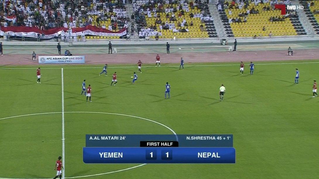 منتخب اليمن يفوز على النيبال ويتأهل إلى كأس آسيا