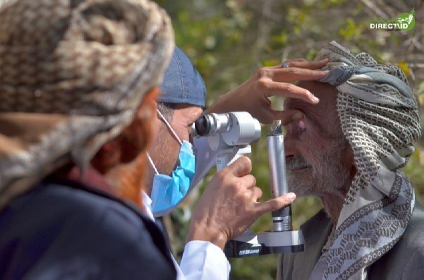 جمعية العون المباشر تدشن مخيم النور الـ24 في حجة