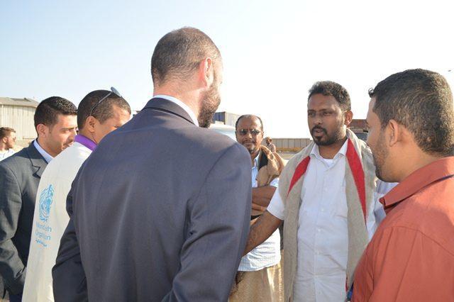 مسؤولون بمكاتب الأمم المتحدة في اليمن يختتمون زيارة إلى حضرموت