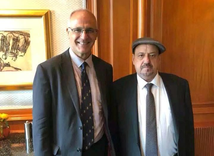 البركاني يلتقي السفير البريطاني بالقاهرة ويكشف: هذا ما تم الاتفاق عليه