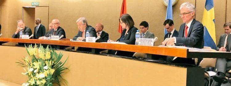 انعقاد مؤتمر الاستجابة الإنسانية لليمن في جنيف
